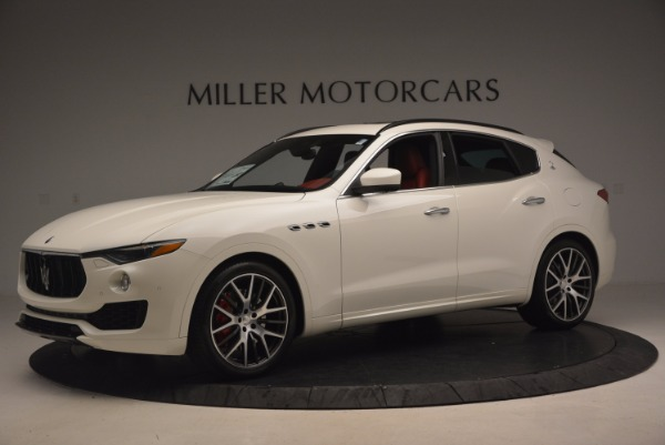 New 2017 Maserati Levante S for sale Sold at McLaren Greenwich in Greenwich CT 06830 2