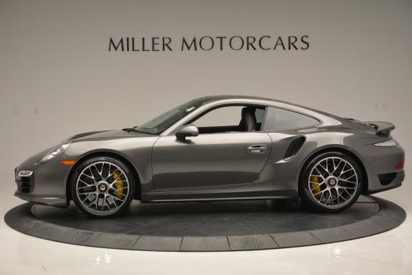 Used 2014 Porsche 911 Turbo S for sale Sold at McLaren Greenwich in Greenwich CT 06830 3
