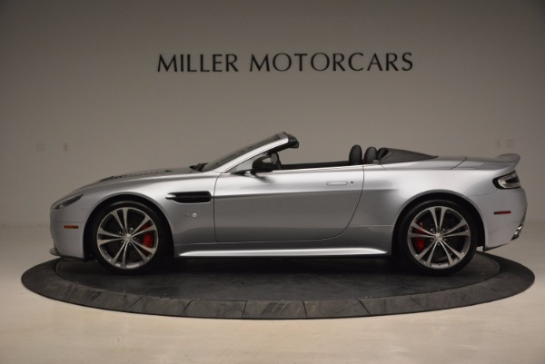 Used 2015 Aston Martin V12 Vantage S Roadster for sale Sold at McLaren Greenwich in Greenwich CT 06830 3