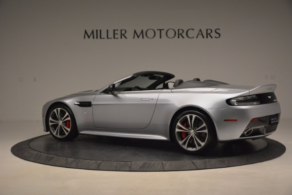 Used 2015 Aston Martin V12 Vantage S Roadster for sale Sold at McLaren Greenwich in Greenwich CT 06830 4