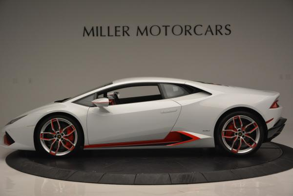 Used 2015 Lamborghini Huracan LP610-4 for sale Sold at McLaren Greenwich in Greenwich CT 06830 3