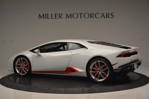 Used 2015 Lamborghini Huracan LP610-4 for sale Sold at McLaren Greenwich in Greenwich CT 06830 4