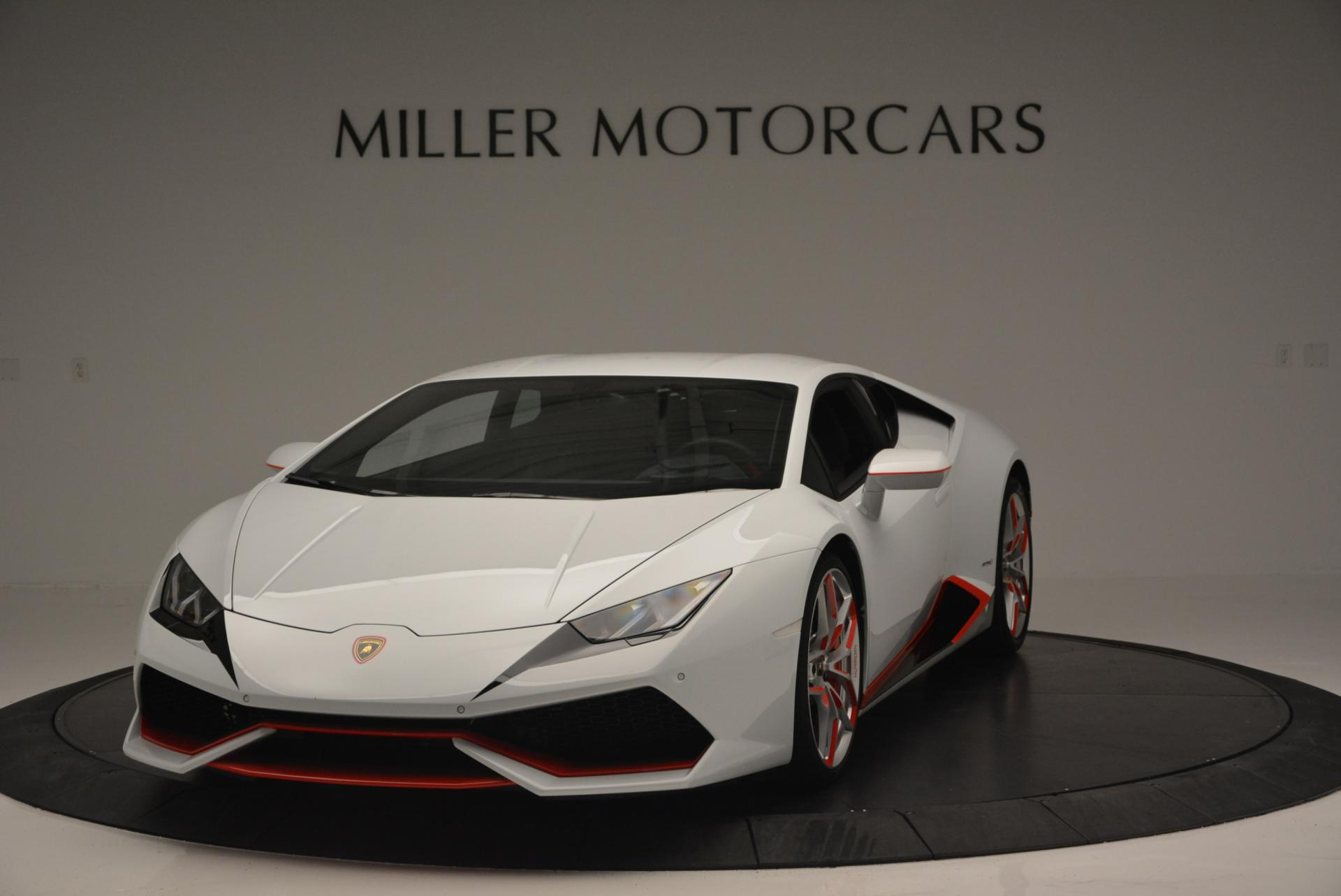 Used 2015 Lamborghini Huracan LP610-4 for sale Sold at McLaren Greenwich in Greenwich CT 06830 1