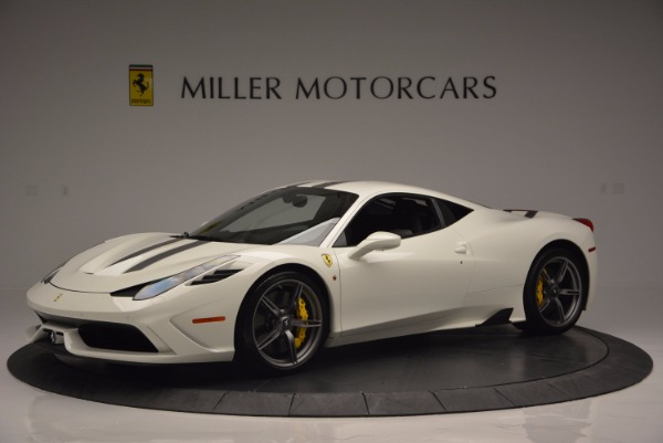 Used 2015 Ferrari 458 Speciale for sale Sold at McLaren Greenwich in Greenwich CT 06830 2