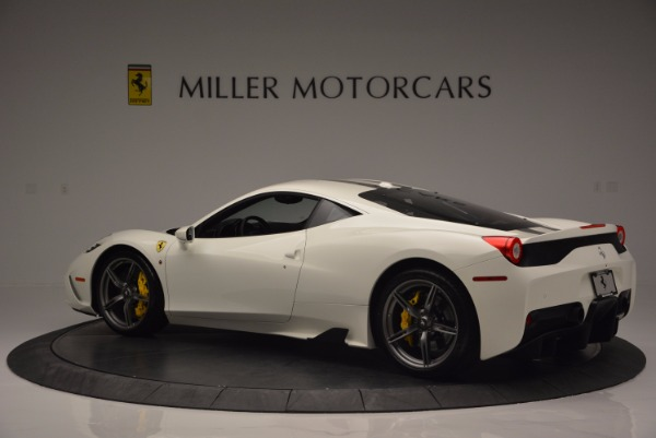 Used 2015 Ferrari 458 Speciale for sale Sold at McLaren Greenwich in Greenwich CT 06830 4