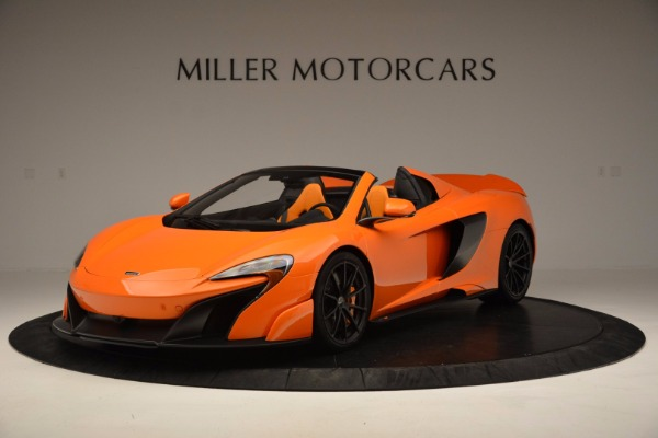 Used 2016 McLaren 675LT Spider Convertible for sale Sold at McLaren Greenwich in Greenwich CT 06830 2