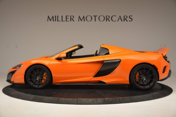 Used 2016 McLaren 675LT Spider Convertible for sale Sold at McLaren Greenwich in Greenwich CT 06830 3