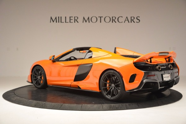 Used 2016 McLaren 675LT Spider Convertible for sale Sold at McLaren Greenwich in Greenwich CT 06830 4