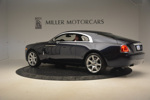 Used 2016 Rolls-Royce Wraith for sale Sold at McLaren Greenwich in Greenwich CT 06830 4