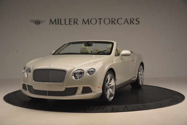 Used 2013 Bentley Continental GT for sale Sold at McLaren Greenwich in Greenwich CT 06830 1