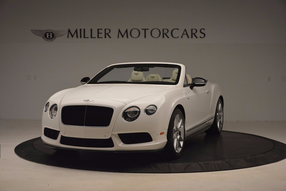 Used 2015 Bentley Continental GT V8 S for sale Sold at McLaren Greenwich in Greenwich CT 06830 1