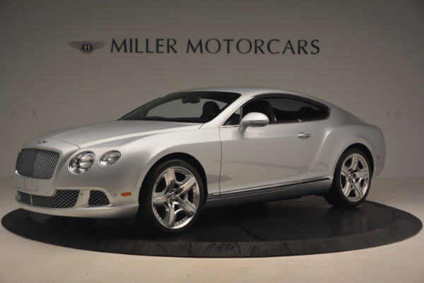 Used 2012 Bentley Continental GT for sale Sold at McLaren Greenwich in Greenwich CT 06830 2