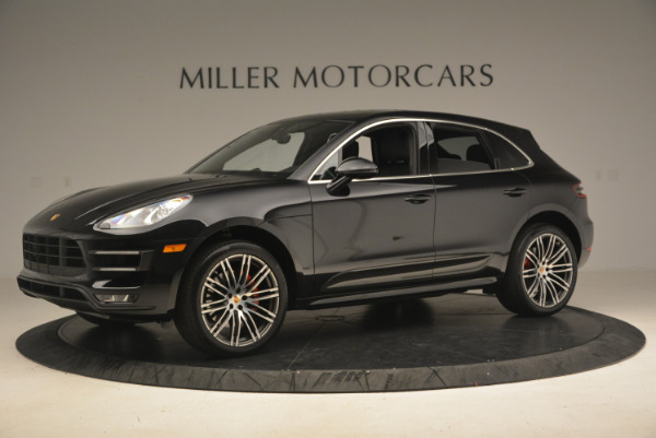 Used 2016 Porsche Macan Turbo for sale Sold at McLaren Greenwich in Greenwich CT 06830 2