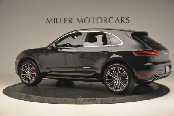 Used 2016 Porsche Macan Turbo for sale Sold at McLaren Greenwich in Greenwich CT 06830 4
