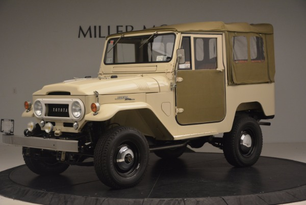 Used 1966 Toyota FJ40 Land Cruiser Land Cruiser for sale Sold at McLaren Greenwich in Greenwich CT 06830 2
