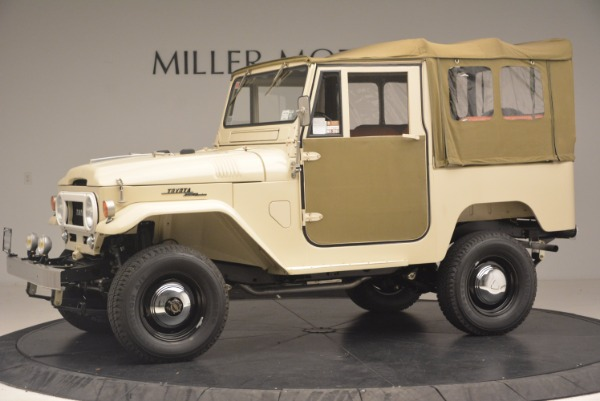 Used 1966 Toyota FJ40 Land Cruiser Land Cruiser for sale Sold at McLaren Greenwich in Greenwich CT 06830 3