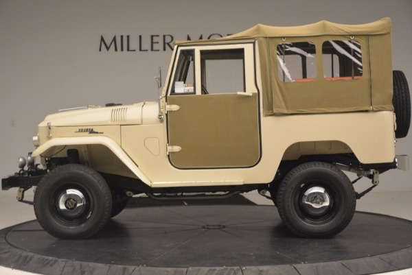Used 1966 Toyota FJ40 Land Cruiser Land Cruiser for sale Sold at McLaren Greenwich in Greenwich CT 06830 4
