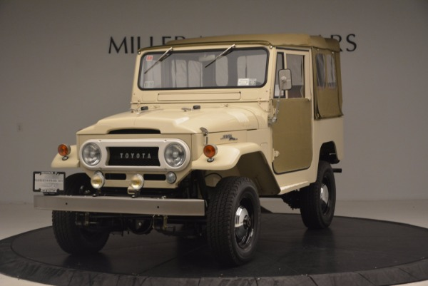 Used 1966 Toyota FJ40 Land Cruiser Land Cruiser for sale Sold at McLaren Greenwich in Greenwich CT 06830 1