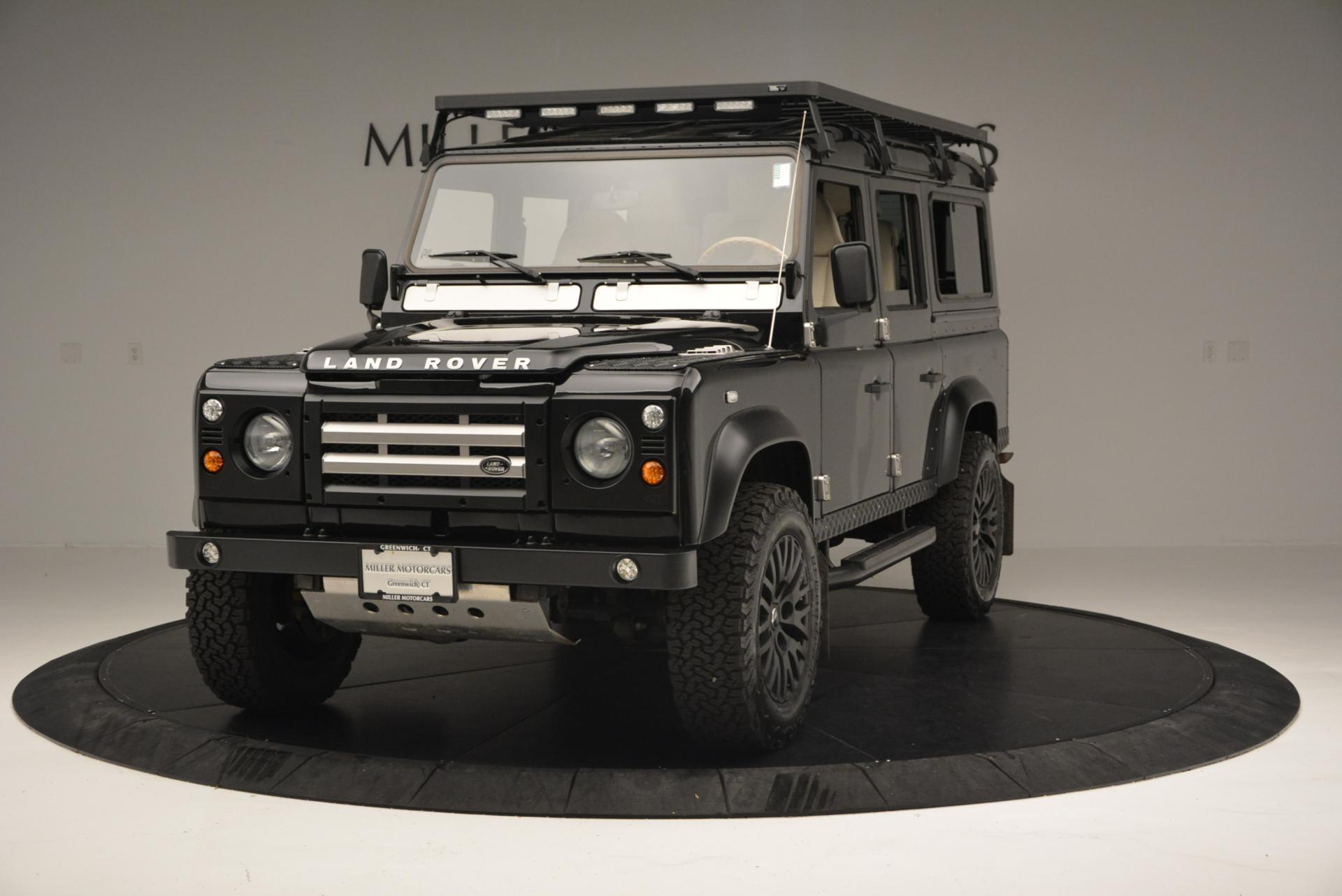 Used 1985 LAND ROVER Defender 110 for sale Sold at McLaren Greenwich in Greenwich CT 06830 1