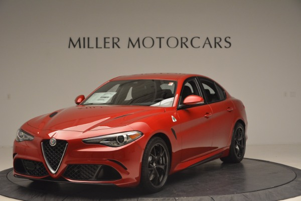 New 2017 Alfa Romeo Giulia Quadrifoglio Quadrifoglio for sale Sold at McLaren Greenwich in Greenwich CT 06830 1
