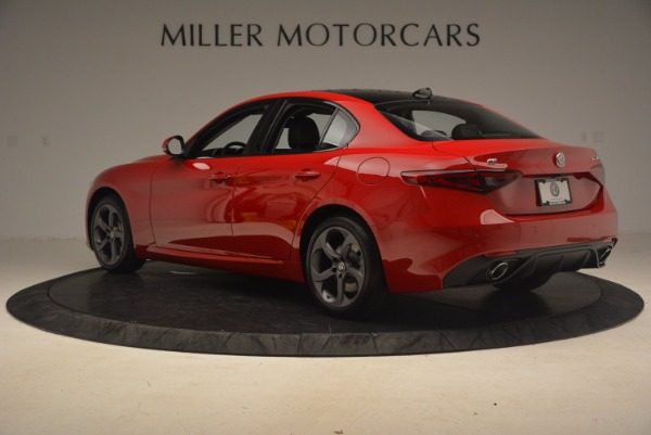 New 2017 Alfa Romeo Giulia Ti Sport Q4 for sale Sold at McLaren Greenwich in Greenwich CT 06830 4