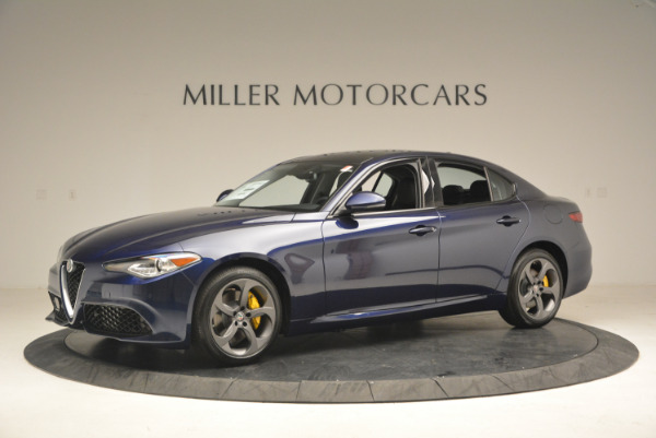 New 2017 Alfa Romeo Giulia Sport Q4 for sale Sold at McLaren Greenwich in Greenwich CT 06830 2