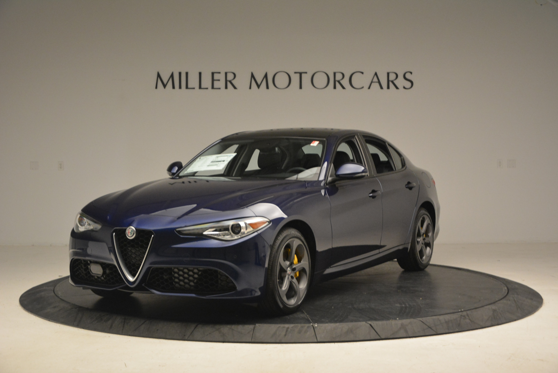 New 2017 Alfa Romeo Giulia Sport Q4 for sale Sold at McLaren Greenwich in Greenwich CT 06830 1