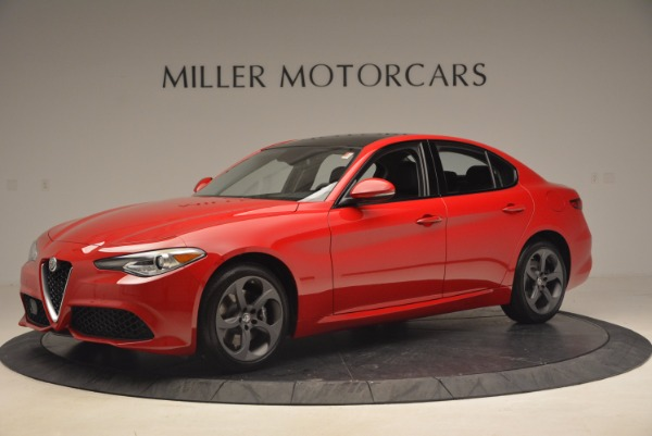 New 2017 Alfa Romeo Giulia Q4 for sale Sold at McLaren Greenwich in Greenwich CT 06830 2