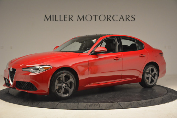 New 2017 Alfa Romeo Giulia Q4 for sale Sold at McLaren Greenwich in Greenwich CT 06830 3