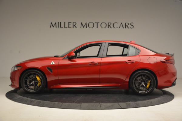 Used 2017 Alfa Romeo Giulia Quadrifoglio for sale Sold at McLaren Greenwich in Greenwich CT 06830 3