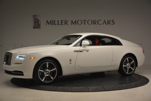 Used 2017 Rolls-Royce Wraith for sale Sold at McLaren Greenwich in Greenwich CT 06830 2