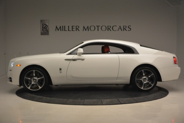 Used 2017 Rolls-Royce Wraith for sale Sold at McLaren Greenwich in Greenwich CT 06830 3