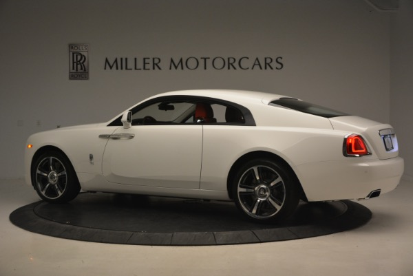 Used 2017 Rolls-Royce Wraith for sale Sold at McLaren Greenwich in Greenwich CT 06830 4