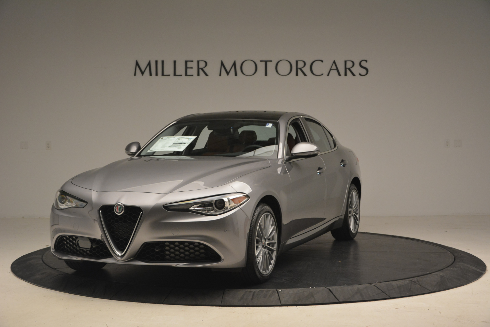 New 2017 Alfa Romeo Giulia Ti Q4 for sale Sold at McLaren Greenwich in Greenwich CT 06830 1