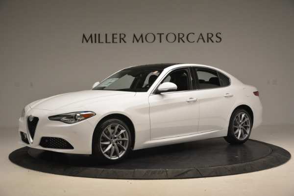 New 2017 Alfa Romeo Giulia Ti Q4 for sale Sold at McLaren Greenwich in Greenwich CT 06830 2