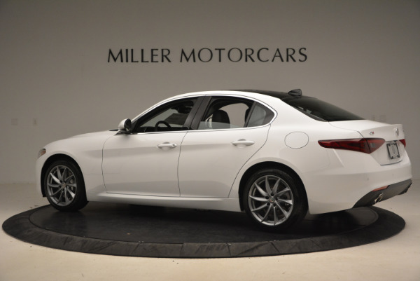 New 2017 Alfa Romeo Giulia Ti Q4 for sale Sold at McLaren Greenwich in Greenwich CT 06830 4