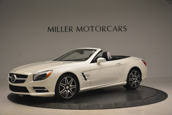 Used 2015 Mercedes Benz SL-Class SL 550 for sale Sold at McLaren Greenwich in Greenwich CT 06830 2
