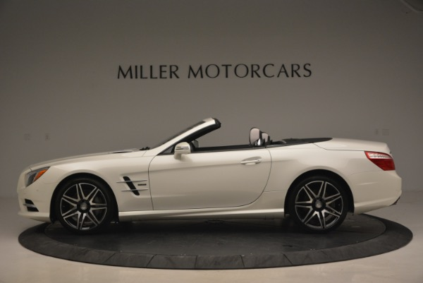 Used 2015 Mercedes Benz SL-Class SL 550 for sale Sold at McLaren Greenwich in Greenwich CT 06830 3
