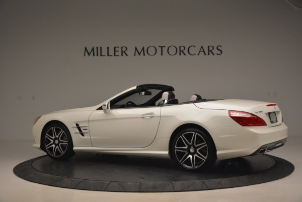 Used 2015 Mercedes Benz SL-Class SL 550 for sale Sold at McLaren Greenwich in Greenwich CT 06830 4