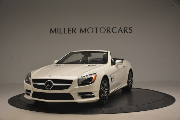 Used 2015 Mercedes Benz SL-Class SL 550 for sale Sold at McLaren Greenwich in Greenwich CT 06830 1