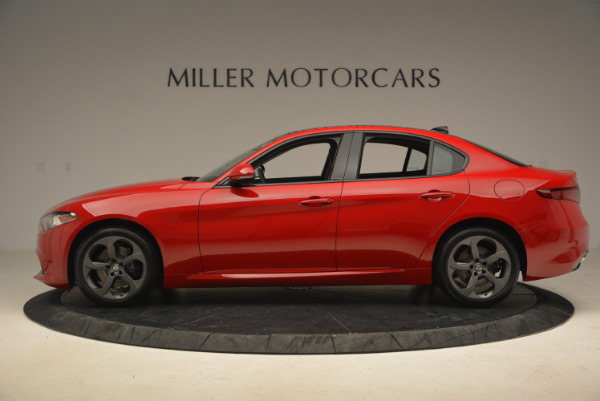 New 2017 Alfa Romeo Giulia Q4 for sale Sold at McLaren Greenwich in Greenwich CT 06830 4