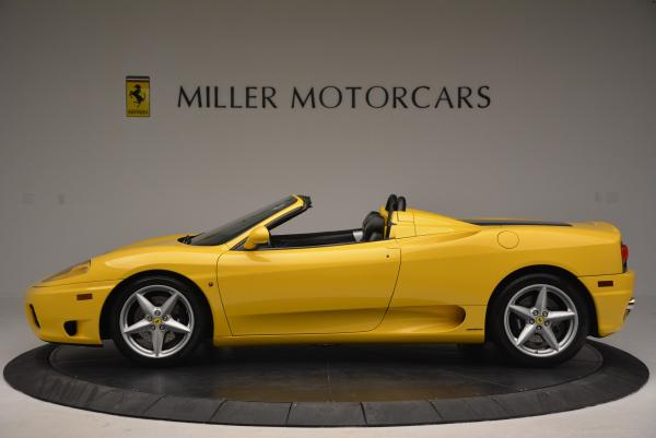 Used 2003 Ferrari 360 Spider 6-Speed Manual for sale Sold at McLaren Greenwich in Greenwich CT 06830 3
