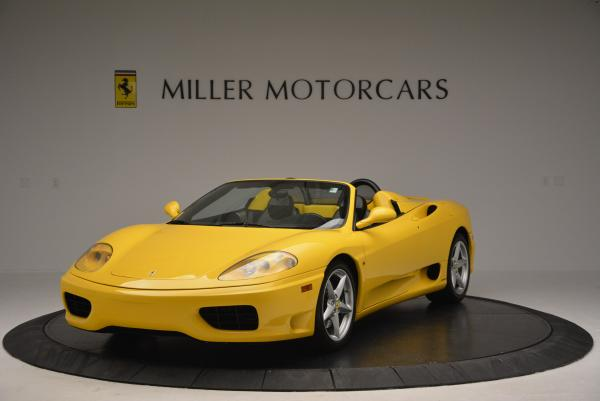 Used 2003 Ferrari 360 Spider 6-Speed Manual for sale Sold at McLaren Greenwich in Greenwich CT 06830 1