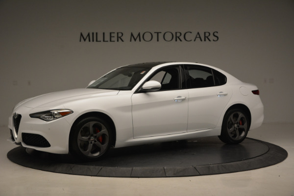 New 2017 Alfa Romeo Giulia Ti Sport Q4 for sale Sold at McLaren Greenwich in Greenwich CT 06830 2