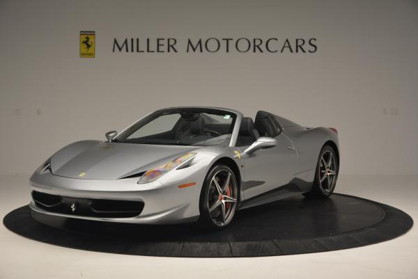 Used 2013 Ferrari 458 Spider for sale Sold at McLaren Greenwich in Greenwich CT 06830 1