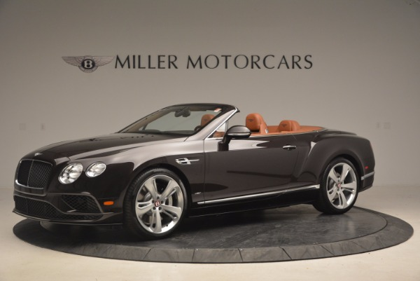 Used 2017 Bentley Continental GTC V8 S for sale Sold at McLaren Greenwich in Greenwich CT 06830 2