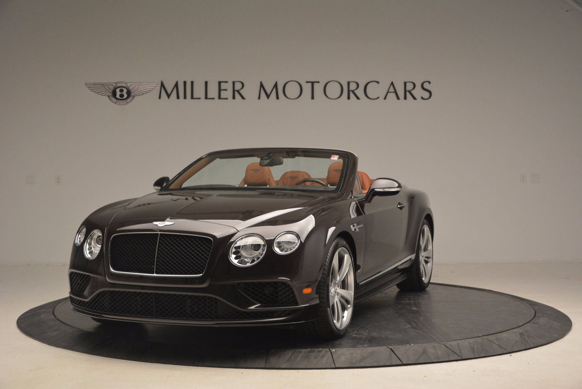 Used 2017 Bentley Continental GTC V8 S for sale Sold at McLaren Greenwich in Greenwich CT 06830 1