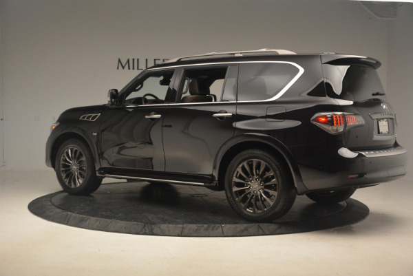 Used 2015 INFINITI QX80 Limited 4WD for sale Sold at McLaren Greenwich in Greenwich CT 06830 4