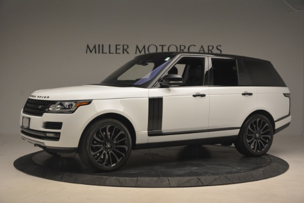 Used 2015 Land Rover Range Rover Supercharged for sale Sold at McLaren Greenwich in Greenwich CT 06830 2