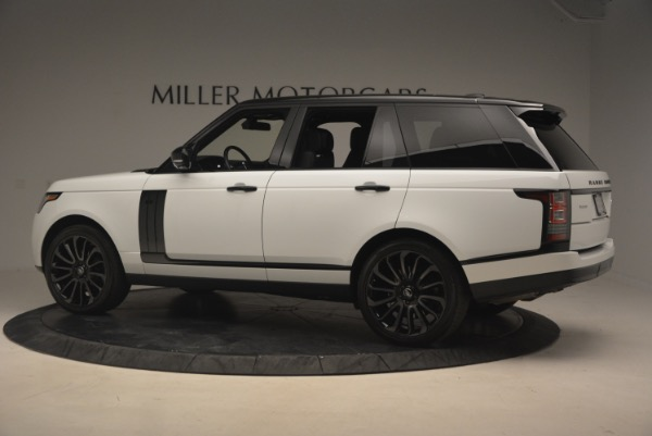 Used 2015 Land Rover Range Rover Supercharged for sale Sold at McLaren Greenwich in Greenwich CT 06830 4